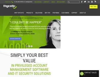 thycotic.com screenshot