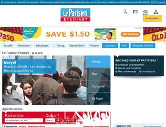 etudiant.aujourdhui.fr screenshot
