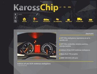 kaross-chip.lv screenshot