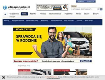 firma.egospodarka.pl screenshot