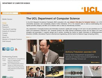 www0.cs.ucl.ac.uk screenshot