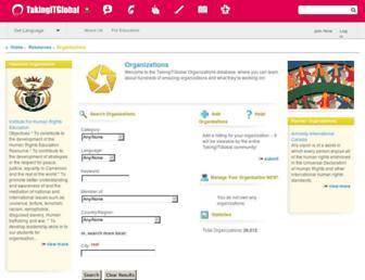 orgs.tigweb.org screenshot