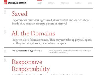 Thumbshot of Jasonsantamaria.com