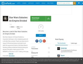 star-wars-galaxies-an-empire-divided.en.softonic.com screenshot