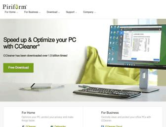 Thumbshot of Piriform.com