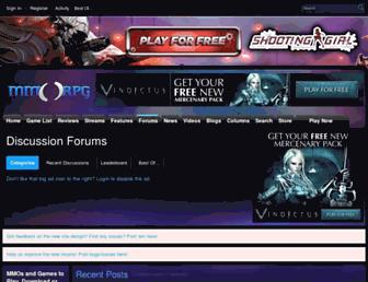 forums.mmorpg.com screenshot