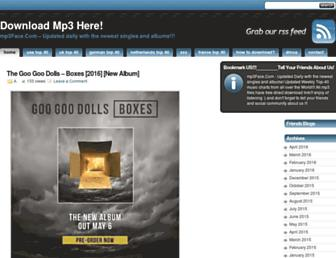 Thumbshot of Mp3face.com