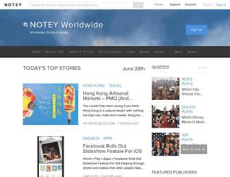 Thumbshot of Notey.com