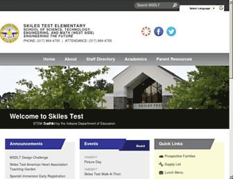 skilestest.ltschools.org screenshot