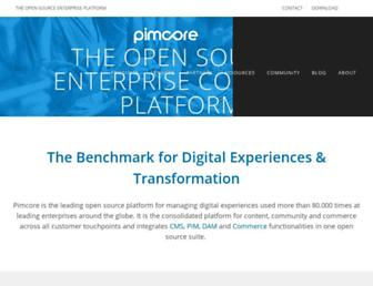 Thumbshot of Pimcore.org