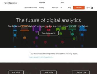 Thumbshot of Webtrends.com