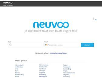 neuvoo.be screenshot