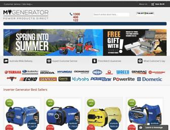 mygenerator.com.au screenshot