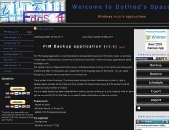 dotfred.net screenshot