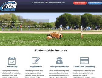 go.teamsideline.com screenshot