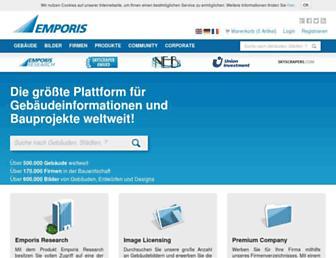 emporis.de screenshot