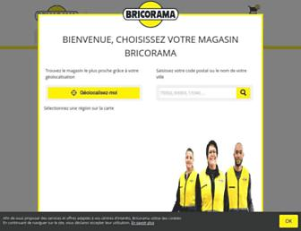 bricorama.fr screenshot