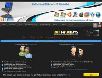 us.informatiweb.net screenshot