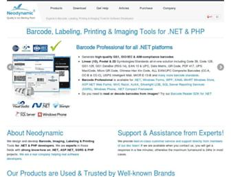 neodynamic.com screenshot