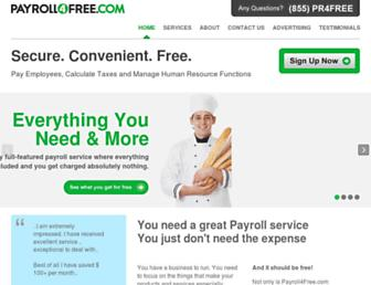 payroll4free.com screenshot