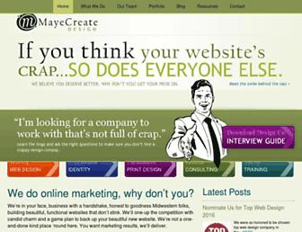 mayecreate.com screenshot