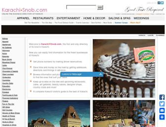 Thumbshot of Karachisnob.com