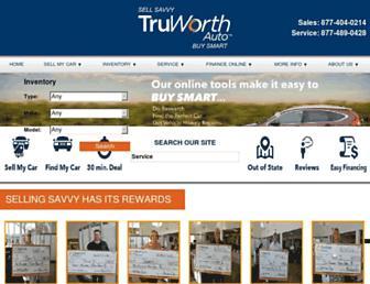truworthauto.com screenshot