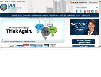 insurance.ohio.gov screenshot
