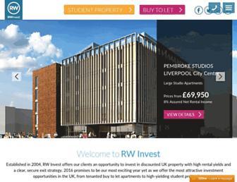 rw-invest.com screenshot