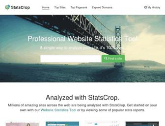 statscrop.com screenshot