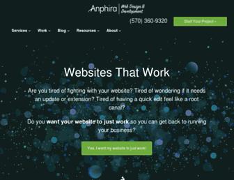 anphira.com screenshot