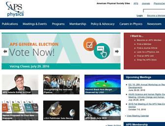Thumbshot of Aps.org