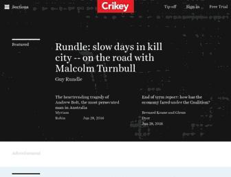 crikey.com.au screenshot