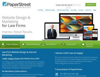 paperstreet.com screenshot