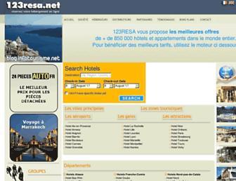 123resa.net screenshot