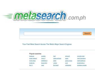 Thumbshot of Metasearch.com.ph