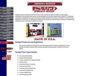 savagepress.com screenshot