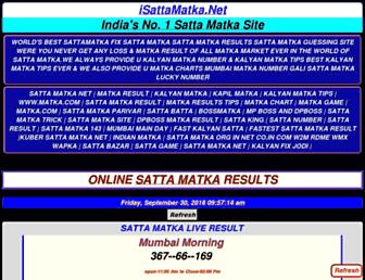 isattamatka.net screenshot