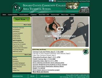 sccc.edu screenshot