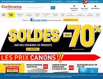 conforama.fr screenshot