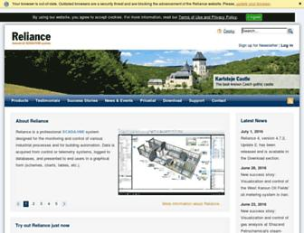 reliance-scada.com screenshot