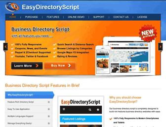 Thumbshot of Easydirectoryscript.com