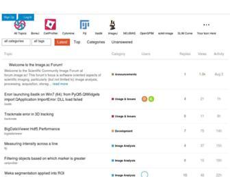 forum.image.sc screenshot