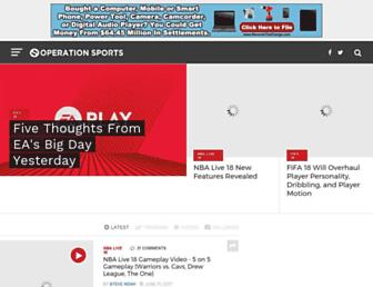 forums.operationsports.com screenshot