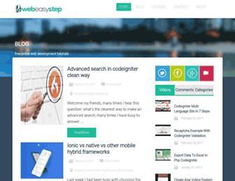 webeasystep.com screenshot