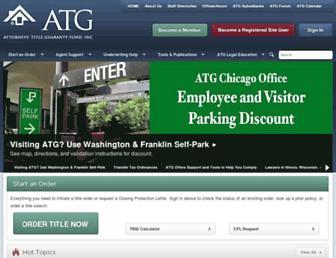 atgf.com screenshot