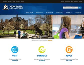 montana.edu screenshot