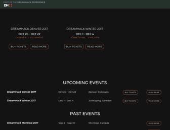 dreamhack.com screenshot
