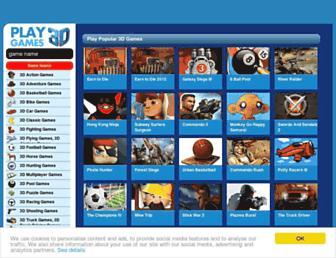 playgames3d.com screenshot