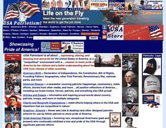 usapatriotism.org screenshot